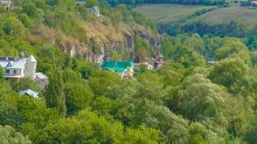 Kamieniec Podolski - eine alte mittelalterliche Stadt voll von Monumenten - Ca Lizenzfreies Stockbild