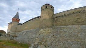 Kamieniec Podolski - eine alte mittelalterliche Stadt voll von Monumenten - Ca Lizenzfreie Stockfotos
