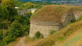 Kamieniec Podolski - eine alte mittelalterliche Stadt voll von Monumenten - Ca Lizenzfreie Stockfotografie