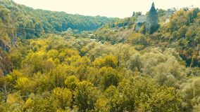 Kamieniec Podolski - an old medieval town full of monuments - ca Stock Photo