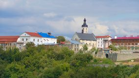 Kamieniec Podolski - an old medieval town full of monuments - ca Royalty Free Stock Images
