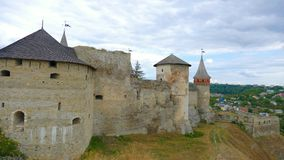 Kamieniec Podolski - an old medieval town full of monuments - ca Royalty Free Stock Photo