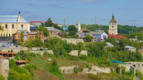 Kamieniec Podolski - an old medieval town full of monuments - ca Royalty Free Stock Image