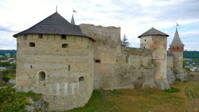 Kamieniec Podolski - an old medieval town full of monuments - ca Royalty Free Stock Photos