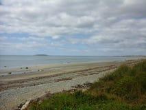 Kamienista plaża Zdjęcie Stock