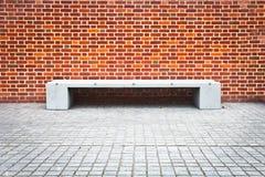 Kamienna ławka Obrazy Stock