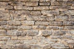 Kamienna ściana antyczny monaster obraz royalty free