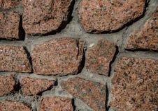 Kamienna ściana dla tła zdjęcia stock