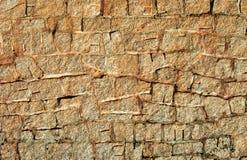 kamienna ściana tło tekstury Obraz Royalty Free