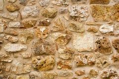 Kamienna ściana - tekstura Fotografia Stock
