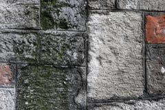 Kamienna ściana z cegieł tekstura Fotografia Royalty Free