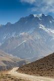 Kamienna ścieżka w górach zdjęcia royalty free