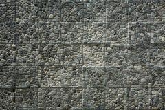 Kamienna ścienna tekstura Obrazy Stock