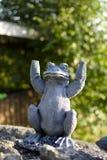 Kamienna żaba Zdjęcie Royalty Free