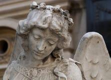 Kamienna anioł statua obrazy royalty free