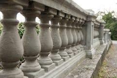 Kamienna balustrada Obrazy Royalty Free