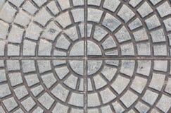Kamienna blokowa podłoga bruk Zdjęcia Stock
