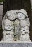 Kamienna Buddha statua w Kyoto, Japan obraz stock