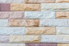 Kamienna cegły ściana Zdjęcia Royalty Free