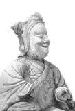 Kamienna Chińska statua Obraz Stock