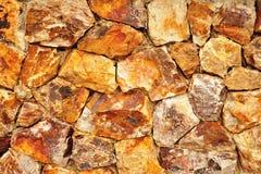 Kamienna ściana. Obraz Royalty Free