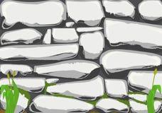 Kamienna ściana Popielata Zdjęcie Stock