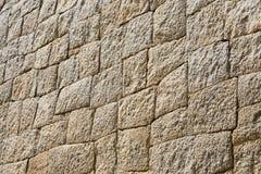 Kamienna ściana w Mycenae Zdjęcia Royalty Free