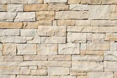 Kamienna ścienna tekstura Obraz Stock