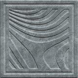 Kamienna cyzelowanie tekstura z geometrycznym wzorem royalty ilustracja