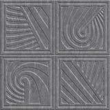 Kamienna cyzelowanie tekstura z geometrycznym wzorem ilustracji