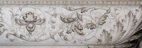Kamienna dekoracja (abstrakcjonistyczny natura wzór) Zdjęcia Stock