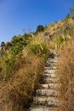 Kamienna drabina XiaMen TianZhu góra Zdjęcia Stock