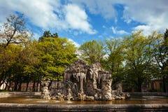 Kamienna fontanna Zdjęcie Royalty Free