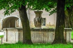 Kamienna fontanna Fotografia Stock