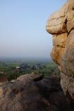 Kamienna góra w Braja India Obraz Royalty Free