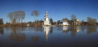 Kamienna kaplica, ortodoksyjny kościół, Rosja zdjęcie royalty free