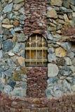 kamienna kratownicy ściana Fotografia Royalty Free