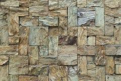 Kamienna płytki ściana Zdjęcia Stock
