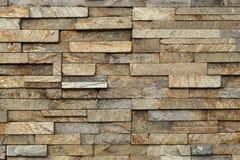 Kamienna płytki ściana Fotografia Royalty Free