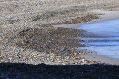 Kamienna plaża obrazy stock