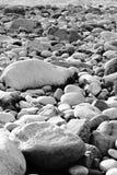 Kamienna plaża Fotografia Stock