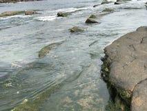 Kamienna plaża Zdjęcie Stock