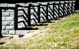 Kamienna poręczówka Fotografia Royalty Free
