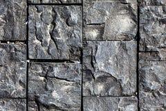Kamienna powierzchnia, odgórny widok Zdjęcie Stock