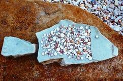 Kamienna ryba Obraz Royalty Free