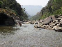 Kamienna rzeka Zdjęcie Stock