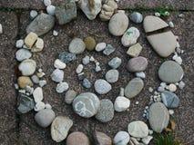 Kamienna spirala zdjęcia royalty free