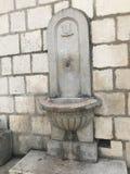 Kamienna stajnia w Diocletian& x27; s pałac w rozłamu obraz royalty free