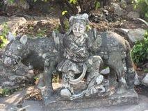 Kamienna statua na Wata Pho świątyni ziemiach w Bangkok, Tajlandia Zdjęcia Stock