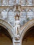 Kamienna statua Średniowieczny rycerz Zdjęcia Royalty Free